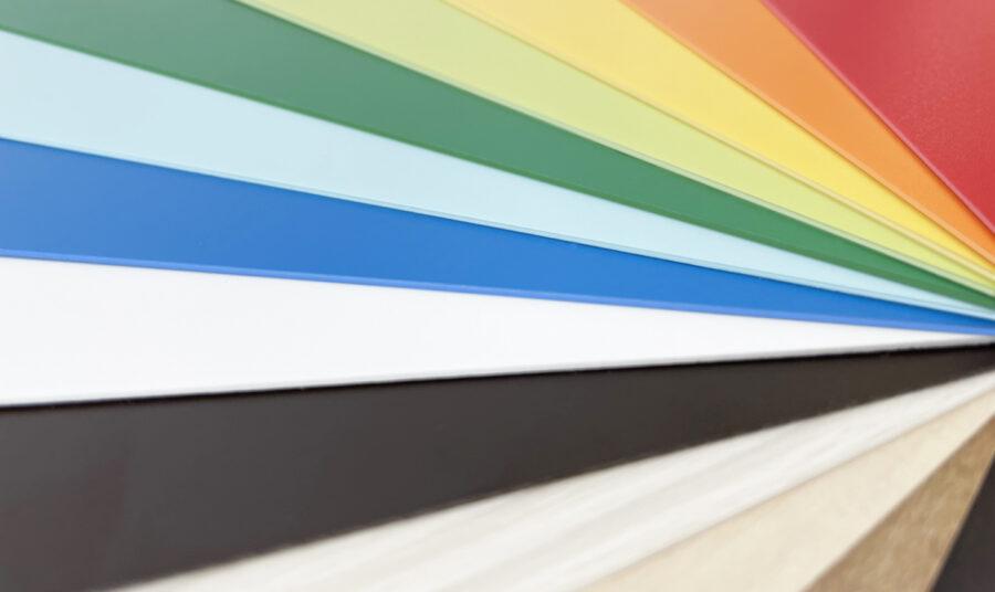 特長1.美しいエッジラインと多様なカラーコア イメージ