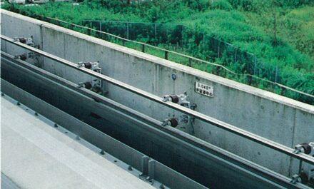 新交通システム上軌条取付 イメージ