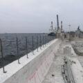 防波堤嵩上げ工事 イメージ