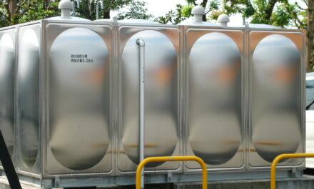 給排水設備用タンク取付 イメージ