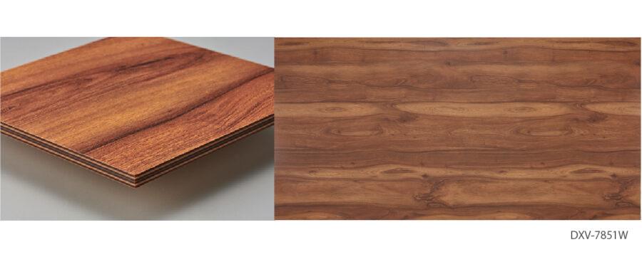 木材の美しさを木口まで表現し、一枚の天然木のような高級感のある板材 イメージ