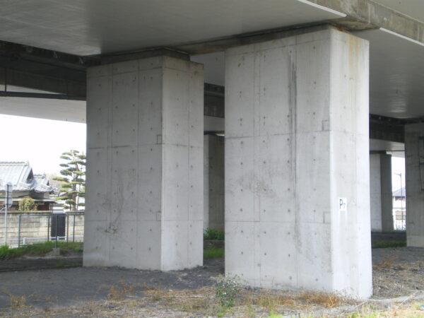 橋脚補強工事 イメージ