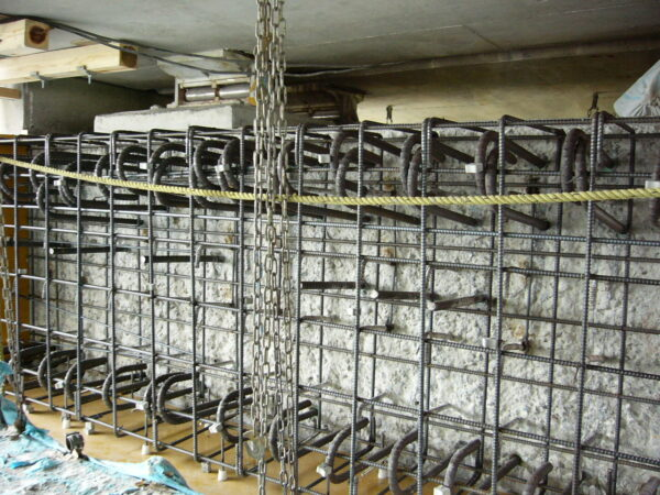 橋梁桁拡幅工事 イメージ