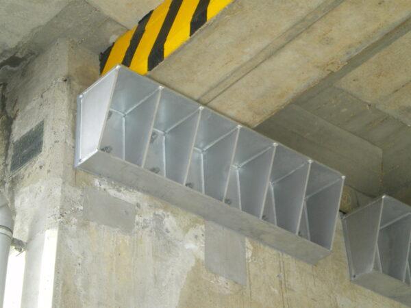 桁移動防止装置取付 イメージ